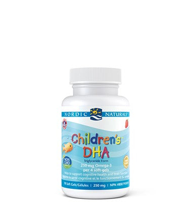 Nordic Naturals Children's DHA, 儿童DHA胶囊, 180 Soft Gels