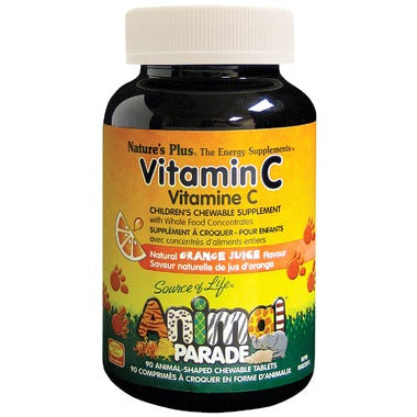 Animal Parade Vitamin C, 动物大游行儿童VC, 90 Tablets