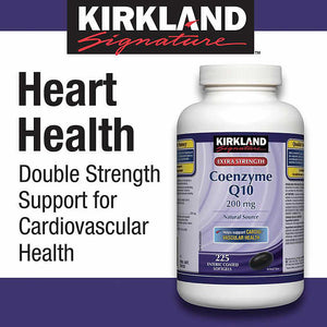 Kirkland Signature Coenzyme Q10, 200mg, 225 Softgel