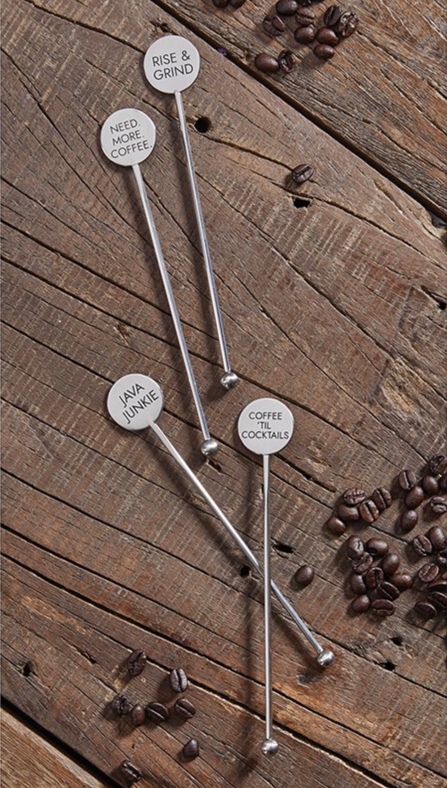 Stainless Steel Coffee Stir Sticks