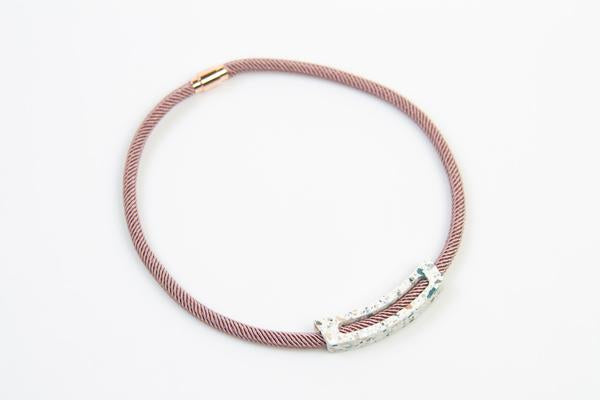 Corian Rope Ark Necklace