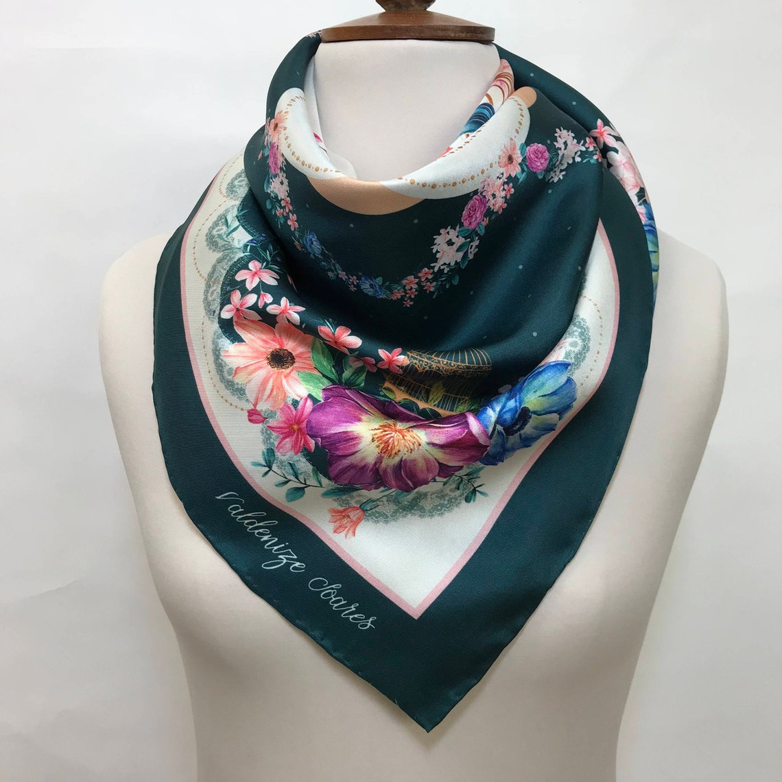 Uncaged Silk Scarf