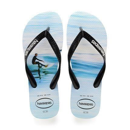 Flip Flops - Havaianas Hype Branco Wave Men