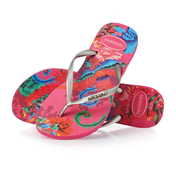 Havaianas Slim Tropical Orchid Rose