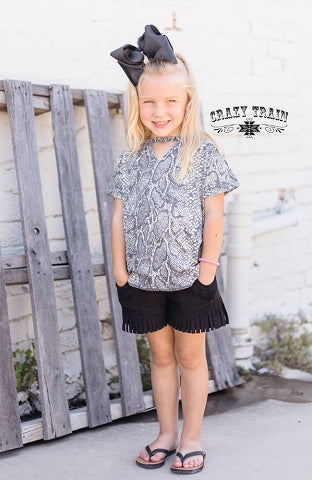 Crazy Train Python Mommie & Me Trendsetter  Top
