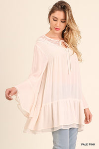 Umgee Layered Bell Sleeve