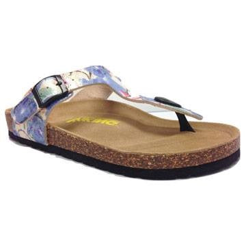 Viking Laguna Blue Floral Sandals