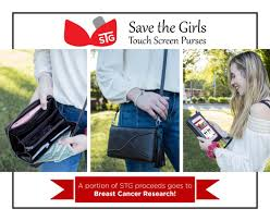 Save The Girls  Touch Screen Phone Purse COLORADO Style