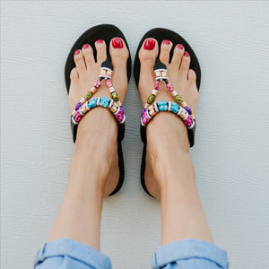 Pali Beaded Sandals KARMA Style