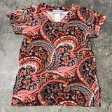 Turquoise Haven Mommie & Me Kids Paisley Tee
