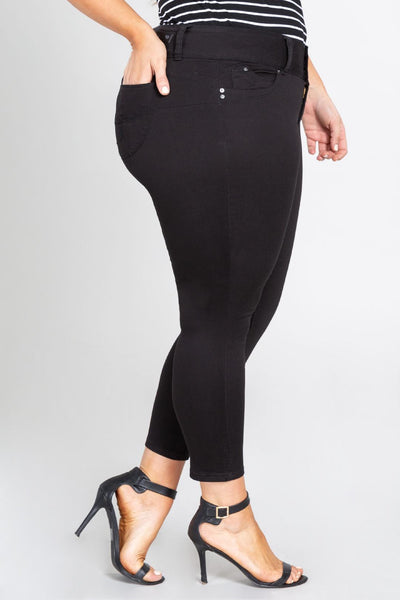 YMI Black Stretch Jeans Plus Size