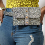 (Silver) Flashy Fanny Pack