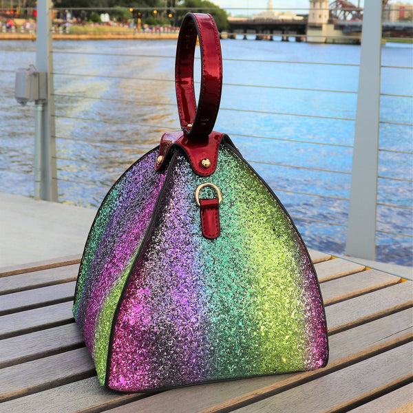 Sparkling Pyramid Bag