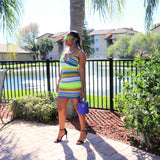 Key lime Mini Dress