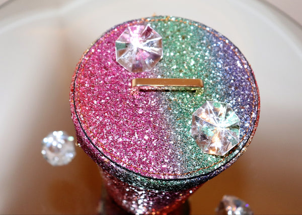 Sparkling Glitter Bucket Bag