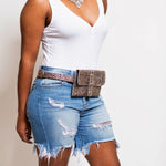 Jasmine (Light Wash) Distressed Shorts