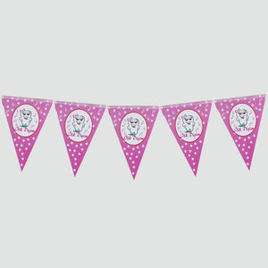 My First Tooth Design Triangle Pennant- 10 Pieces
