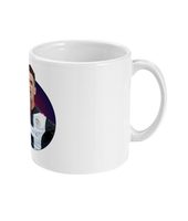 St Mirren FC Captain Stephen McGinn Cartoon Mug from Through the Turnstile home of Scottish Football fan merchandise - ceramic mug right view