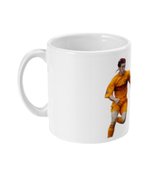 Red Stripe Faddy Mug