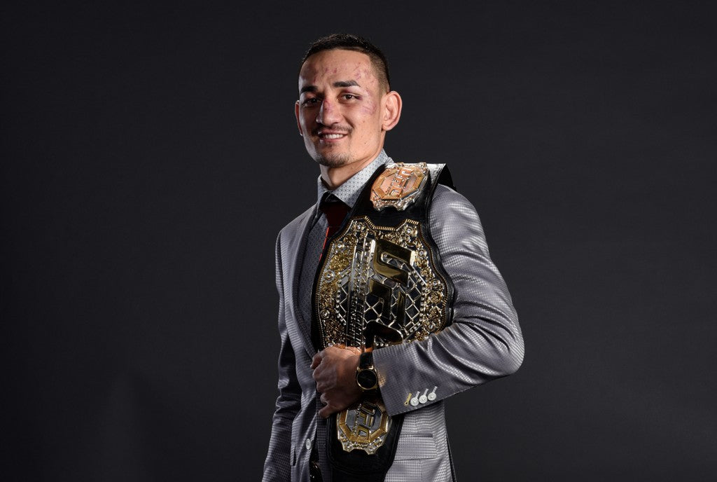 Brand Ambassador Max Holloway Named UFC Fighter of the Year