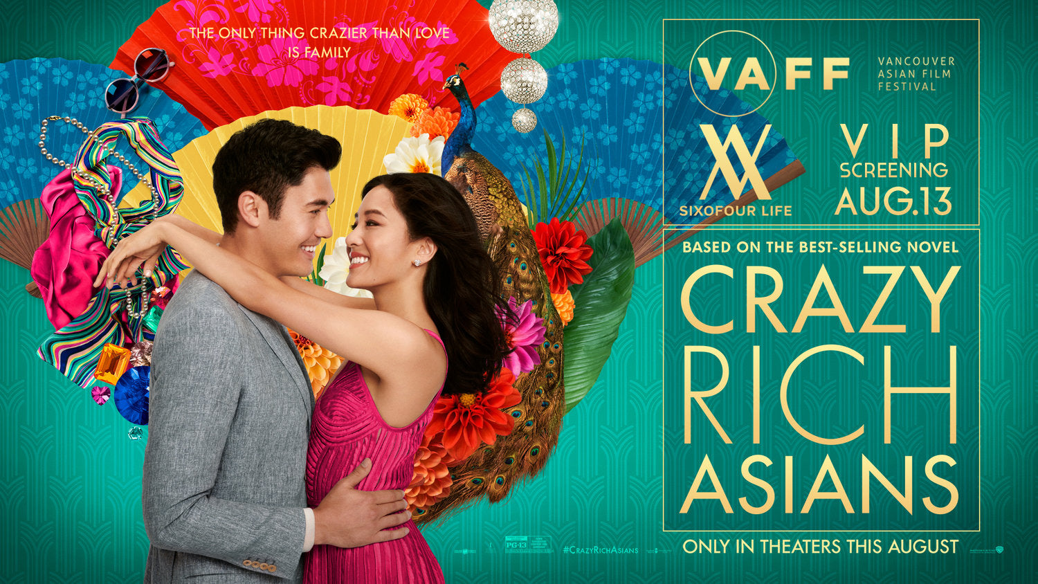Sixofour Life and VAFF Screening 'Crazy Rich Asians'