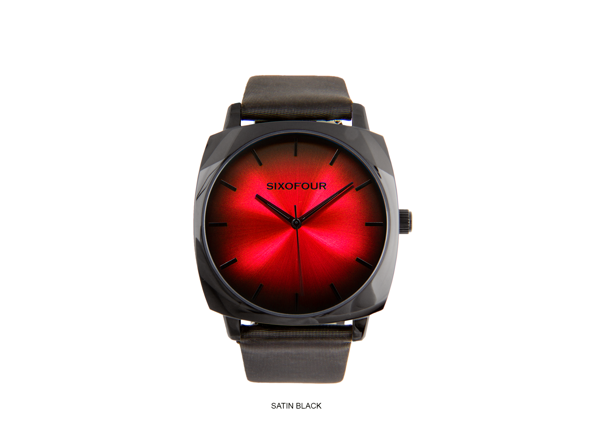 coal harbour red with satin black strap