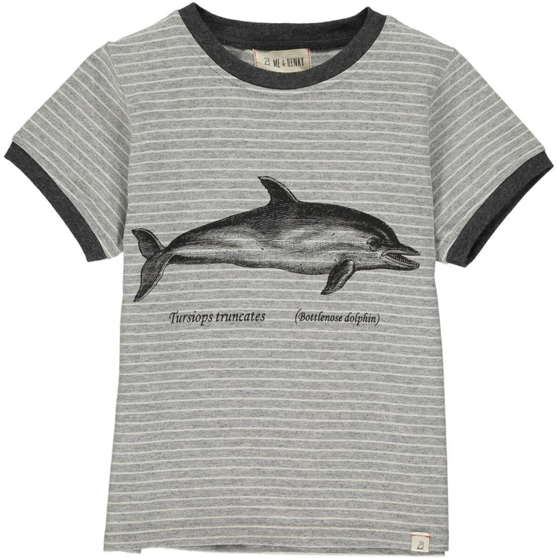 Striped Dolphin Tee