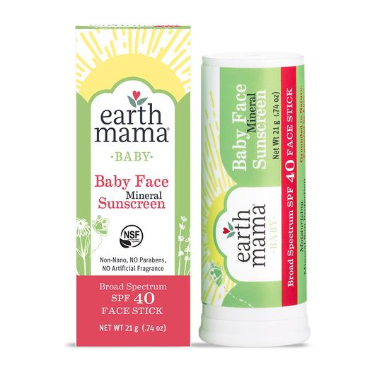 Baby Face Mineral Sunscreen Face Stick - SPF 40