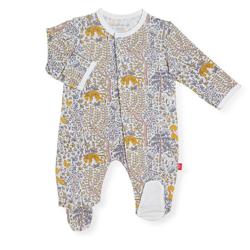 Magnetic Modal Footie Pajama