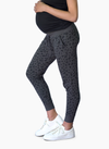 Printed Knit Animal Joggers