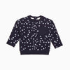 Snowball Printed Crew Neck Sweatshirt