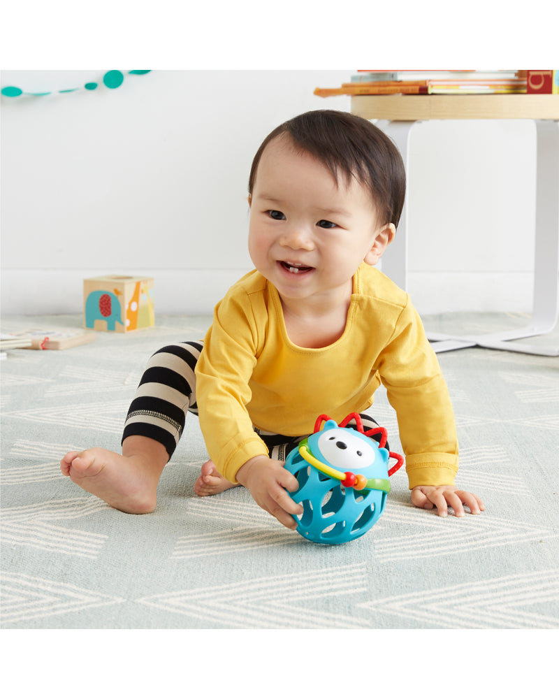 Explore & More Roll-Around Rattle Animal