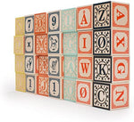 Norwegian Alphabet Blocks