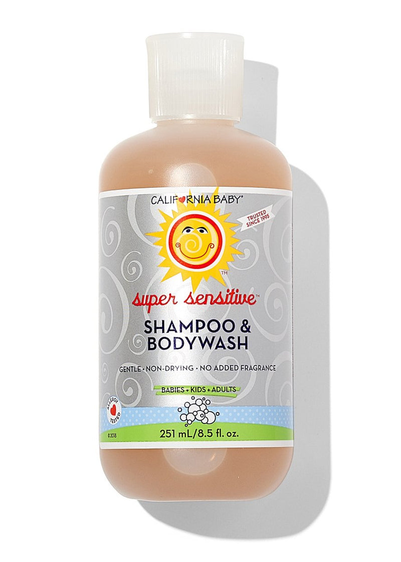 Super Senstive Shampoo + Bodywash