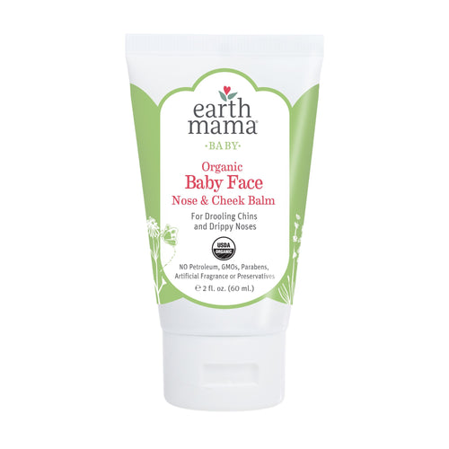 organic baby face nose checck balm