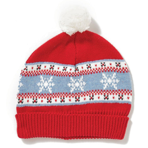 holiday knit hat