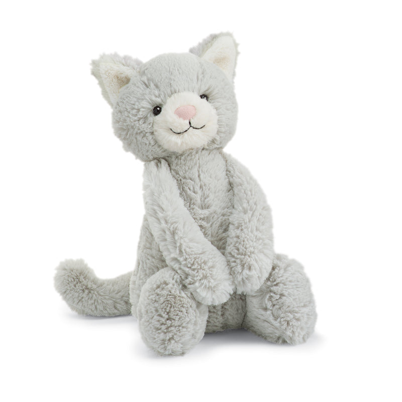 Bashful Grey Kitty Medium
