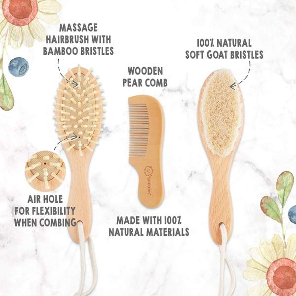 Hair Brush and Comb