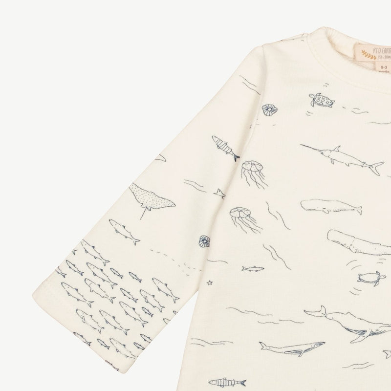 Caribou French Terry Dress 'The Story'