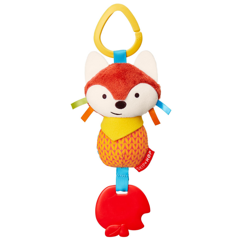 Fox Bandanna Buddy Chime and Teethe Toy