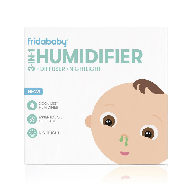 BreatheFrida 3 in1 Humidifier, Diffuser and Nightlight