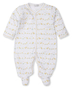 Dilly Dally Duckies Footed Pajama