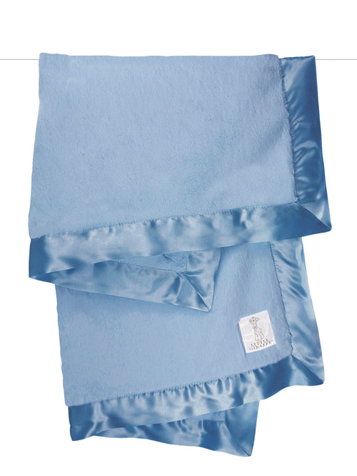 luxy baby blanket cornflower blue