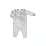 Baby Henley Tie Dye Coverall