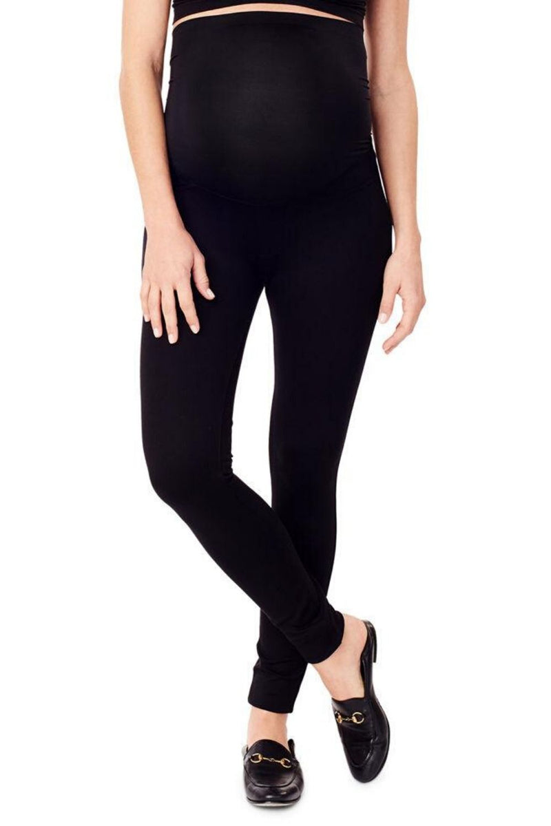 Ponte 5-Pocket Maternity Legging with Crossover Panel