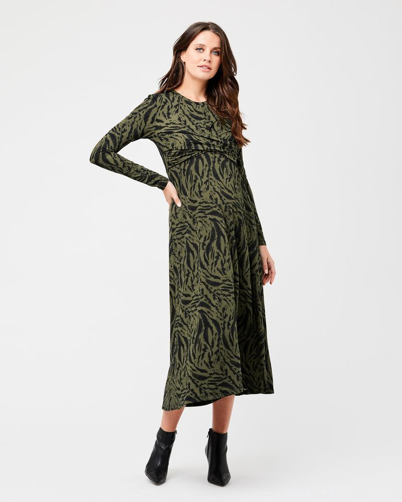 Lynx Cross Front Nursing Dress