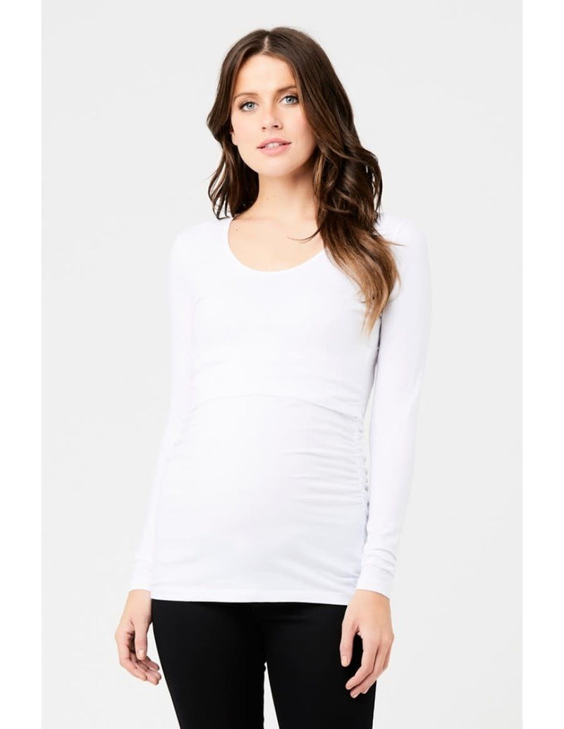 Ali Up/Down Nursing LS Tee