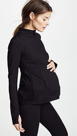 Active Side Zip Maternity Jacket