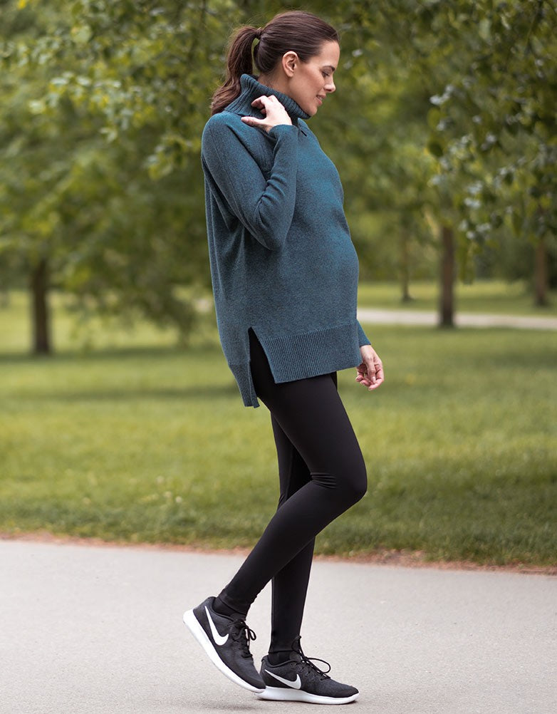 Over Bump Thermal Maternity Leggings
