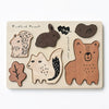 Wooden Tray Puzzle Woodland Animals